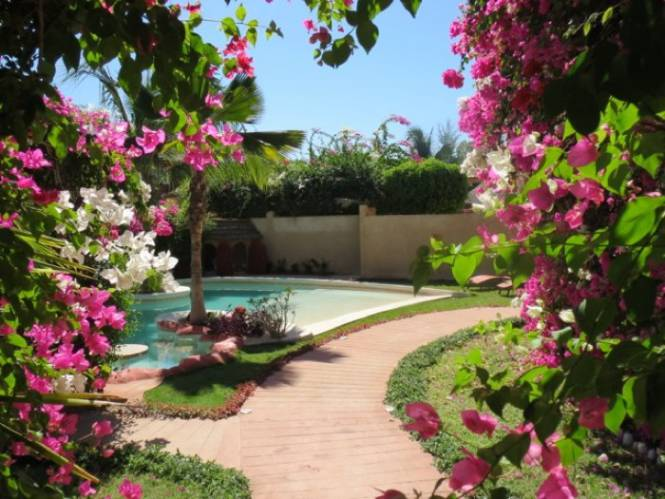 Photo 3 de la Villa en location pour vos vacances au Sénégal.