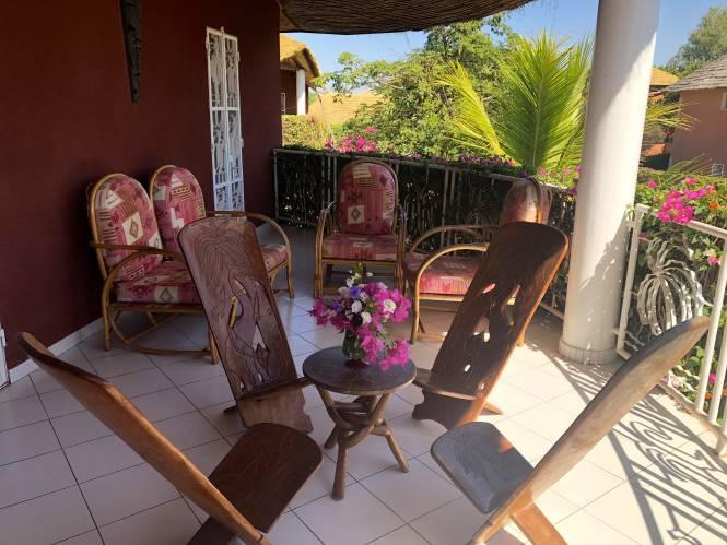 Photo 12 de la Villa en location pour vos vacances au Sénégal.