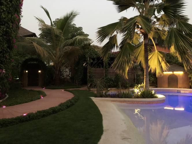 Photo 9 du La villa vue de l'extérieure