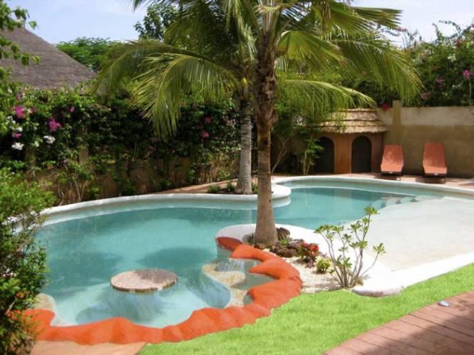 Photo 14 du Vue de la piscine de la villa à louer