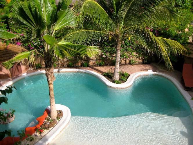 Photo 15 du Vue de la piscine de la villa à louer